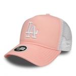 New Era - Los Angeles Dodgers Naisten Trucker Snapback Pinkki/Valko Snapback