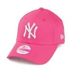 New Era - Women 9forty New York Yankees Pinkki, säädettävä