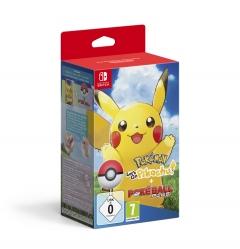 Pokemon: Lets Go, Pikachu + Poke Ball Plus Bundle Nintendo Switch
