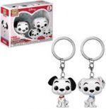 Pocket POP! Disney 101 Dalmatians - Pongo & Purdy 2kpl Avaimenperä