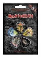 Iron Maiden The Faces of Eddie Plektrasetti 5kpl