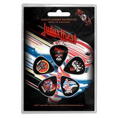 Judas Priest Turbo Plektrasetti 5kpl