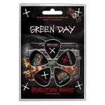 Green Day Revolution Radio Plektrasetti 5kpl