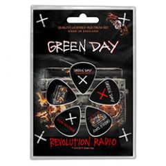Green Day Revolution Radio Plektrasetti 5kpl