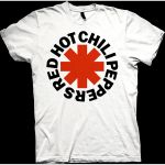 Red Hot Chili Peppers Red Asterisk T-paita
