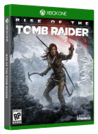 Rise of the Tomb Raider Xbox One *käytetty*