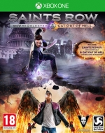Saints Row IV Re-Elected + Gat Out Of Hell First Edition Xbox One *käytetty*