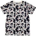 Mickey Mouse All Over Print Heads T-paita