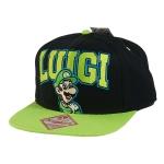 Nintendo -  Luigi Snapback lippis musta