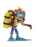 Crash Bandicoot Scuba Crash 14cm Deluxe Action Figuuri