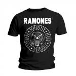 Ramones Presidential Seal T-paita musta
