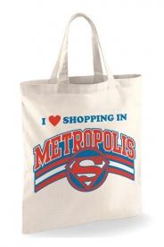 Superman Shopping in Metropolis kangaskassi