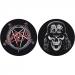 Slayer Pentagram/Wehrmacht Slipmats (2kpl)