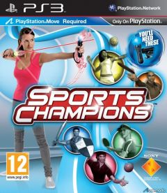 Sports Champions PS3 *käytetty*