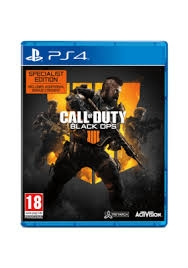 Call of Duty: Black Ops 4 Specialist Edition PS4