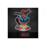 Spiderman USB & patterikäyttöinen Lamppu