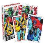 Transformers pelikortit