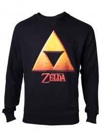 Zelda Gold Triforce Crest Sweatshirt