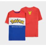 Pokemon Core Logo Cut & Sew lasten T-paita