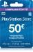 Playstation Store Lompakon Täyttö 50€ PS3/PS4/PSVITA