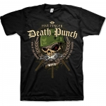 Five Finger Death Punch: War Head T-paita musta