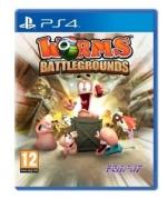 Worms Battlegrounds PS4 *käytetty*