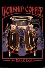 Steven Rhodes Worship Coffee 61 x 91cm Juliste