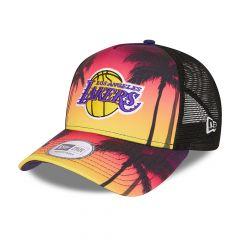New Era - Summer City Trucker Los Angeles Lakers, säädettävä