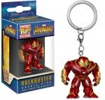 Pocket POP!: Marvel Avengers Infinity War - Hulkbuster Bobble-Head Avaimenperä